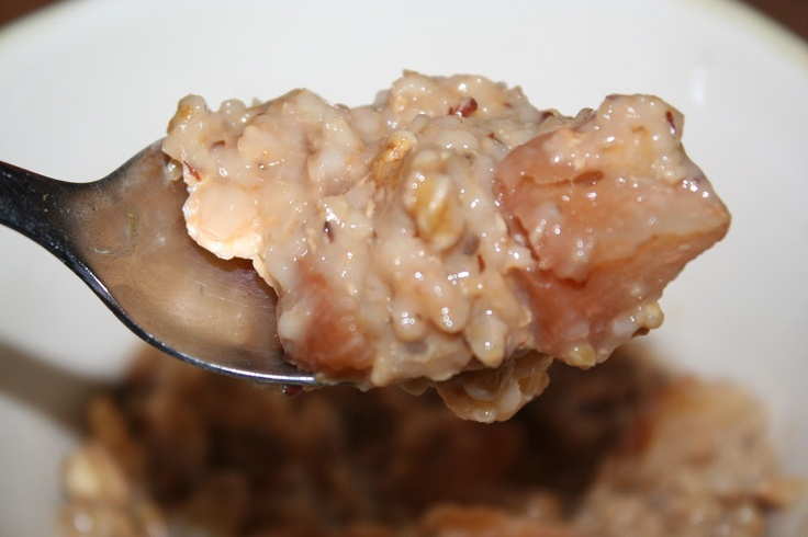 Overnight Steel-Cut Apple Pie Oats | Eat, Drink and Be Aware