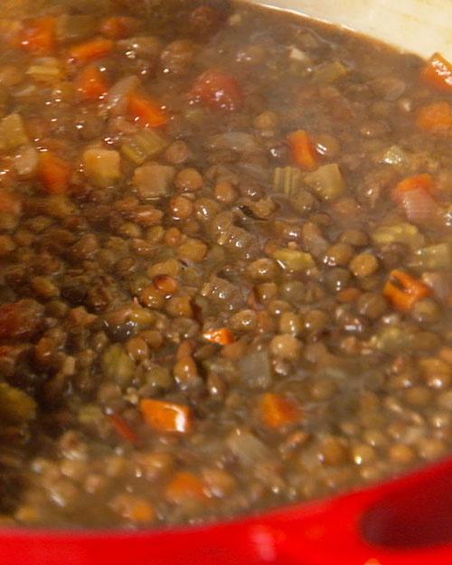 lentil vegetable soup | Breads & Soups Recipes | Pinterest