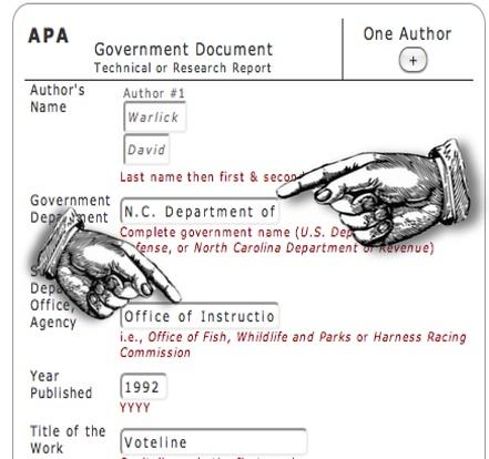 citing apa format generator