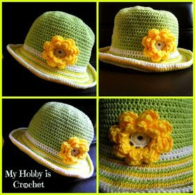 Shine On Sun Hat ~ Free Crochet Pattern | Jessie At Home