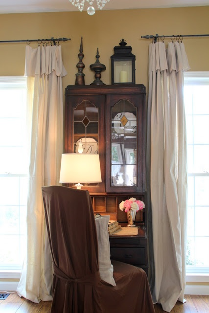 simple window treatments savvy southern style sister 39 s living room