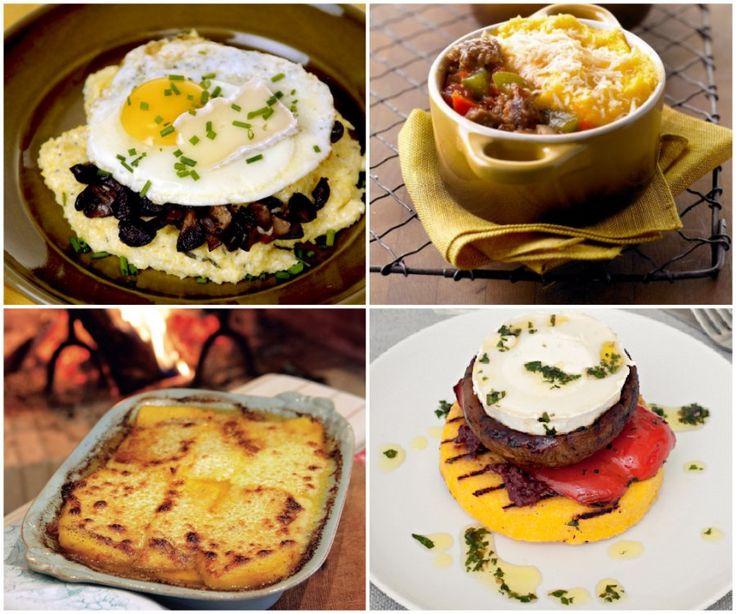 ... For Dinner Tonight: Polenta, my FAV: Polenta And Sausage Pie Recipe
