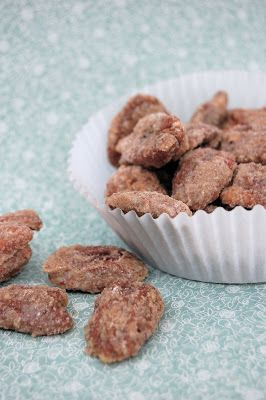 Easy Peasy Sugar-Coated Roasted Pecans - Lovin' From The Oven
