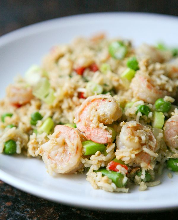 Shrimp fried rice: Easy and sans the crazy amounts of sodium and ...