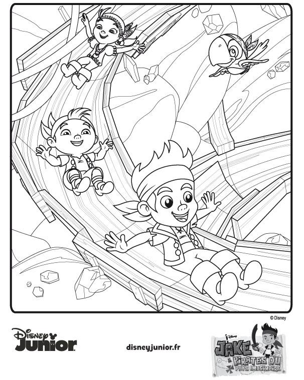 Pinterest discover and save creative ideas - Disney junior coloriage ...