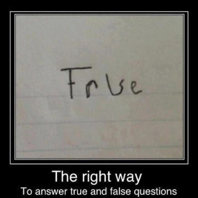 True or false simple image pinterest