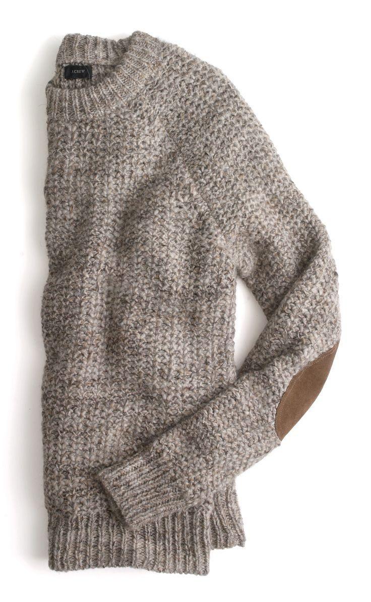 J.Crew alpaca sweater.