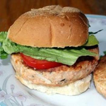 Salmon Rosemary Burgers | Favorite Food | Pinterest