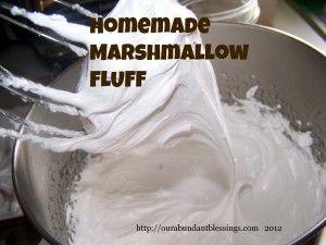 Homemade Marshmallow Fluff | Recipe