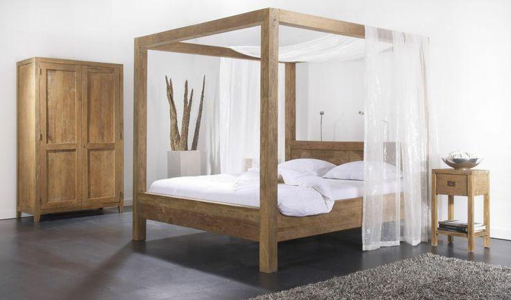Lekker veel hout in de slaapkamer.  Hout in Huis / Interieur  Pinte ...