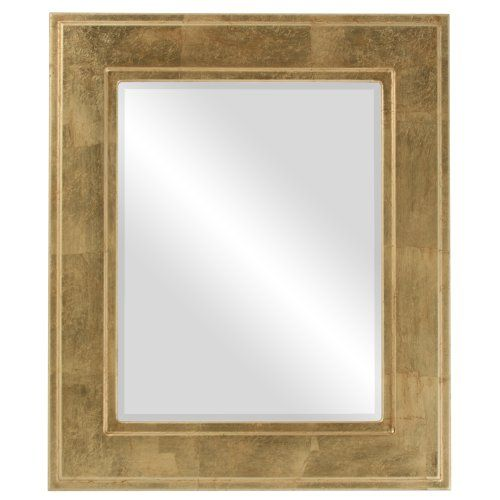 Rectangle Beveled Mirror In A Montreal Style