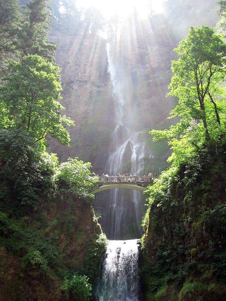 Multnomah Falls Bridal Veil Oregon