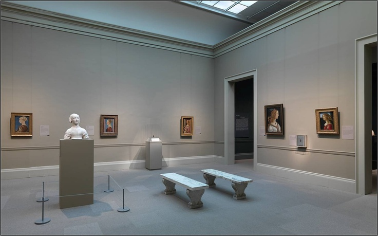 Farrow & Ball at The Met Museum, New York. Walls in Mouse's Back and Light Gray