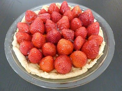 Fresh Strawberry Pie and Pastry Cream | Pie and Tarts | Pinterest