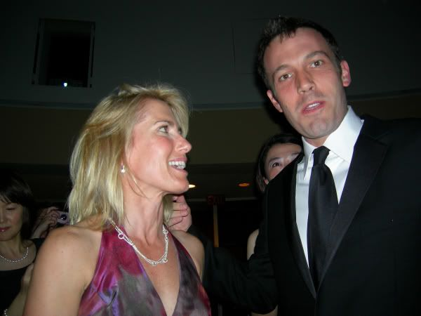 Laura Ingraham with Ben Affleck at the White HouseLaura Ingraham Married