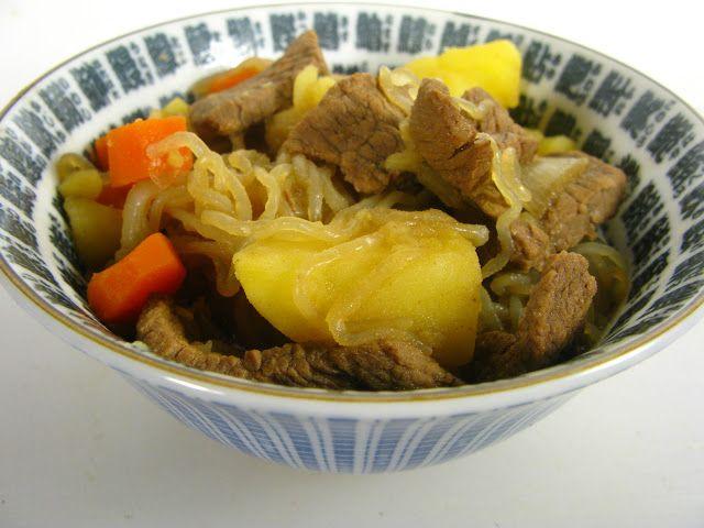 Nikujaga (Japanese Simmered Beef & Potato Stew)