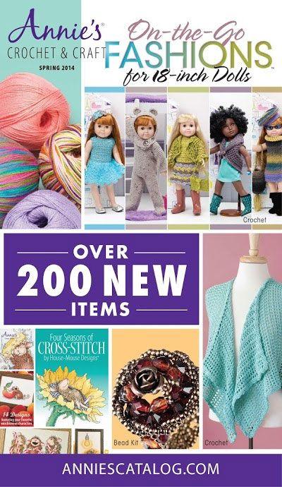 Annies Crochet & Craft Spring 2014 Catalog! Start shopping: http ...