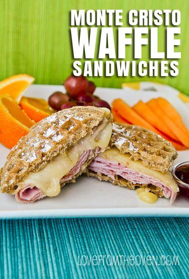 cristo wrap sandwich recipes dishmaps monte cristo wrap sandwich ...