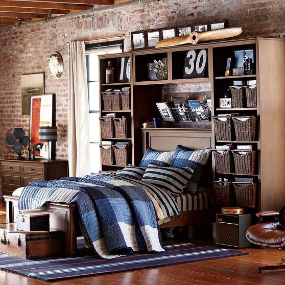 Great boys room pbteen boy bedroom pinterest - Teenage guy room decor ...