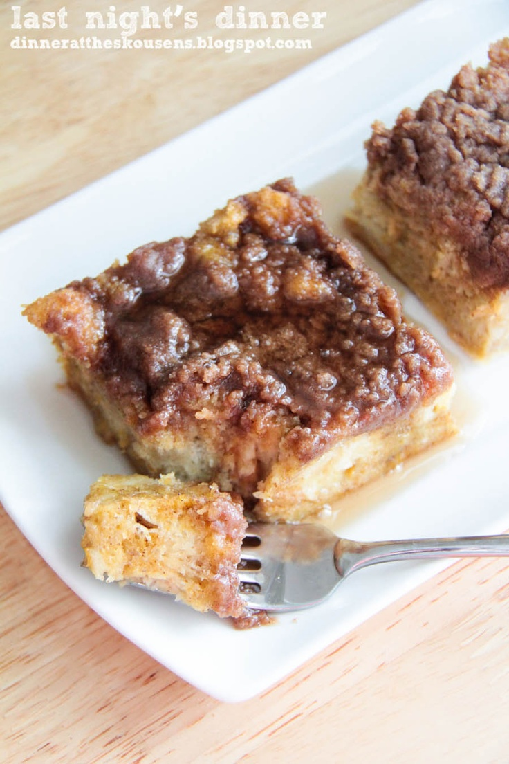 Baked Pumpkin French Toast | Recipes - Breakfast | Pinterest