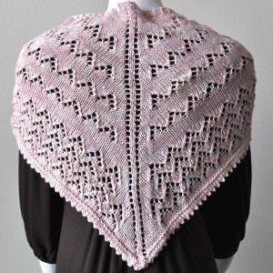 Free Knitting Patterns Dk Yarn : Pin by Joanm 001 on Free shawl knitting patterns Pinterest