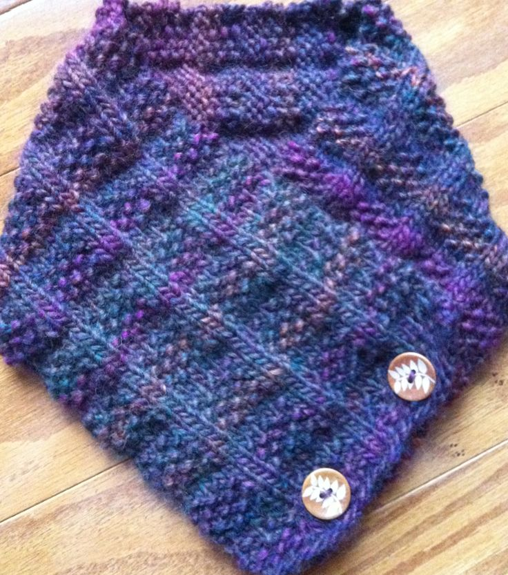 Easy Knitted Neck Warmer Craft Pinterest