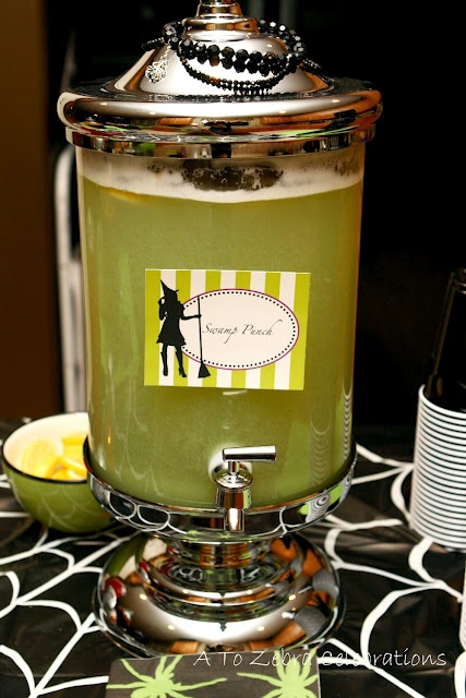 swamp punch | Halloween Drinks | Pinterest