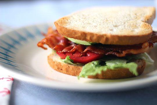 California BLT with Avocado and Basil Mayonnaise - use tempeh bacon ...