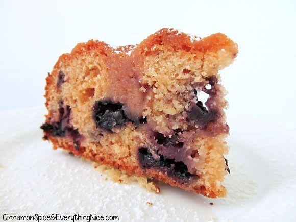 Blueberry Tea Cake | Recipe