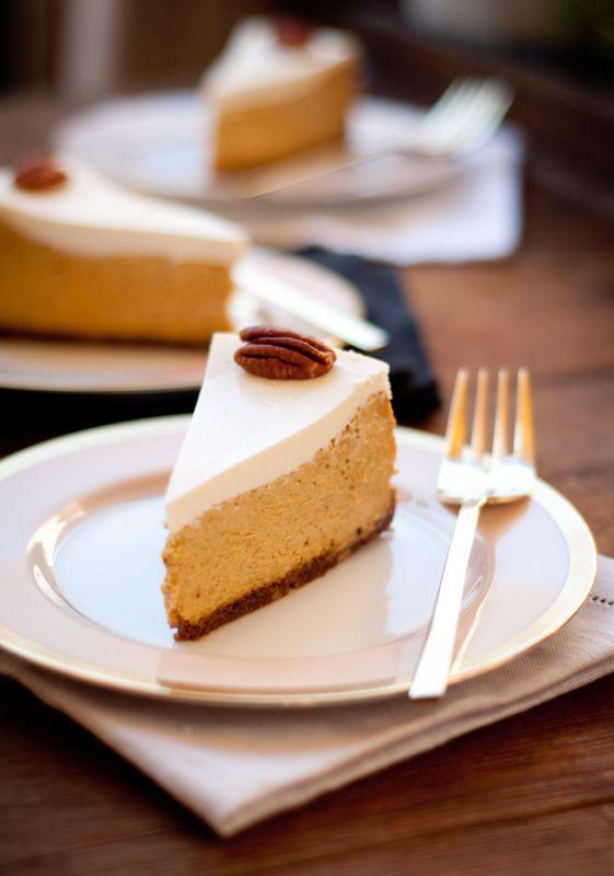 bourbon pumpkin cheesecake | Cheesecake | Pinterest