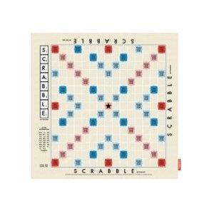 Scrabble Game Board Tea Towel by Wild & Wolf