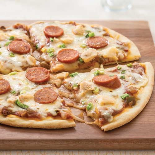 More like this: naan pizza , naan and pizza .