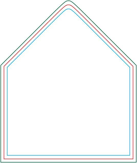 A7 envelope liner template | Wedding... for real | Pinterest