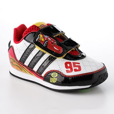 Disney/Pixar Cars Lightning McQueen Athletic Shoes by adidas - Toddler ...
