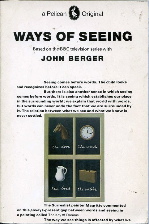 john berger ways seeing essay