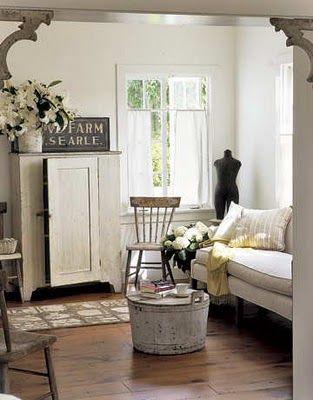 Prairie Style Decorating Prairie Style Decor Interiors Living Spaces Pinterest