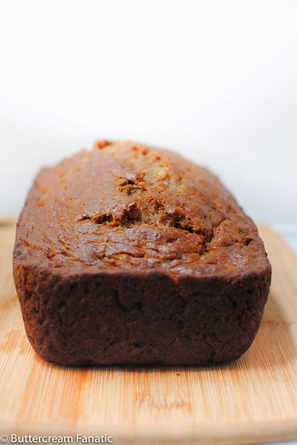 Buttercream Fanatic: Spiced Bourbon Banana Bread | I Pinned it...AND ...
