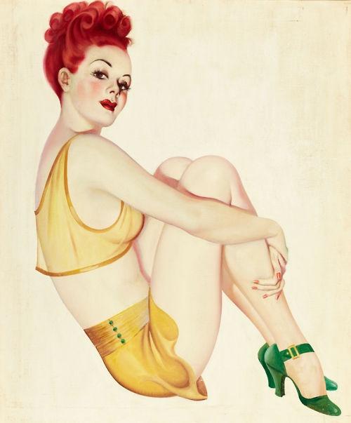Art by Earle Bergey 1939