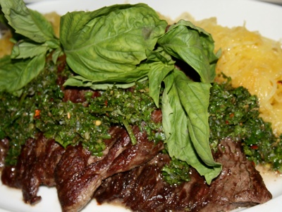 Skirt Steak with Chimichurri Sauce | The chef in me... | Pinterest