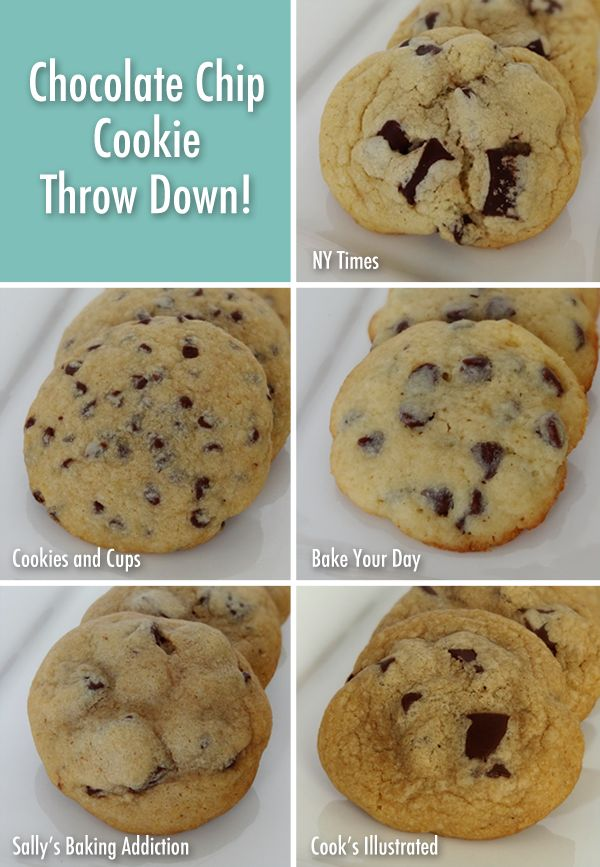 Chocolate Chip Cookie Throw Down! New York Times Chocolate Chip Cookie ...