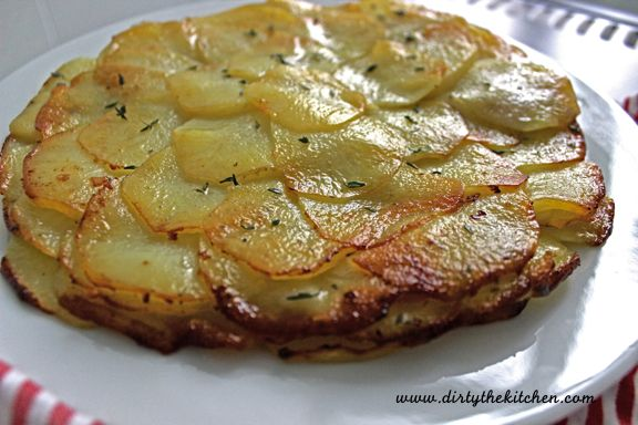 Potato Galette With Caraway Brown Butter Recipes — Dishmaps