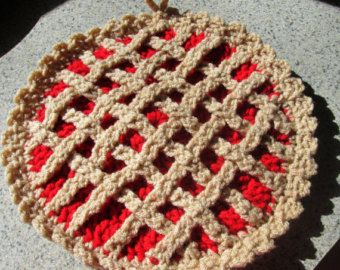 crochet cherry pie | Tumblr