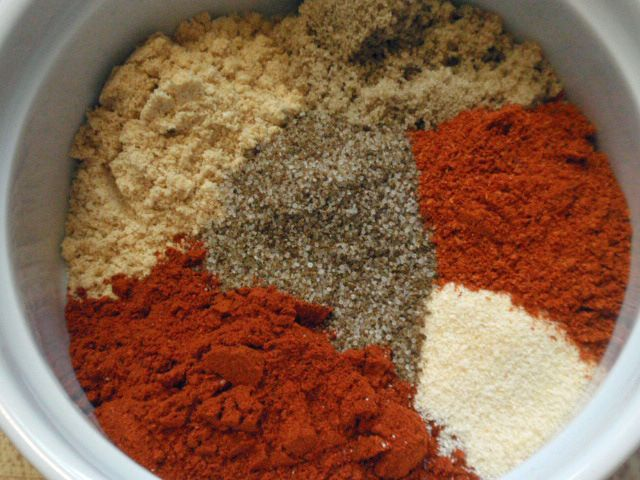 Best Rib Dry Rub 1 tablespoon dry mustard 1 tablespoon paprika 1 ...