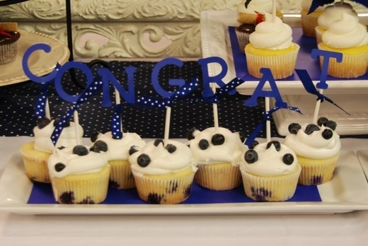 Cupcake Decorating Ideas Graduation Party : cupcake decorations. graduation-ideas food Pinterest