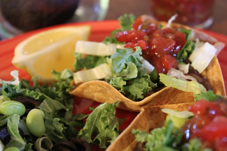 Taco Salad & Mexican Bean and Rice Soup | Vegan | Pinterest