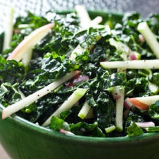 Kale-Apple Coleslaw with Poppy Seed Dressing Recipe Recipe | Yummly