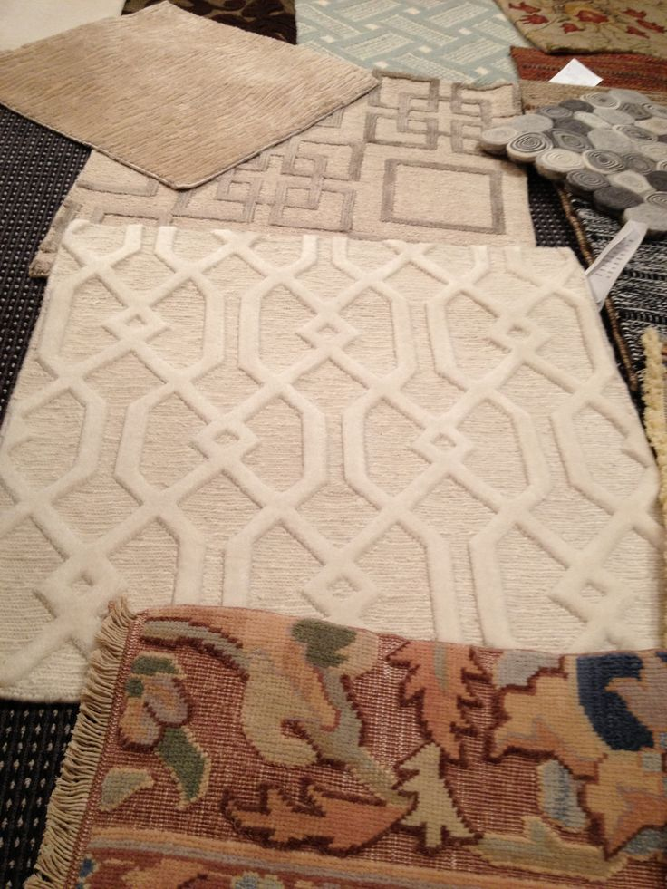 Tone on tone wool french country girl custom area rugs pinterest