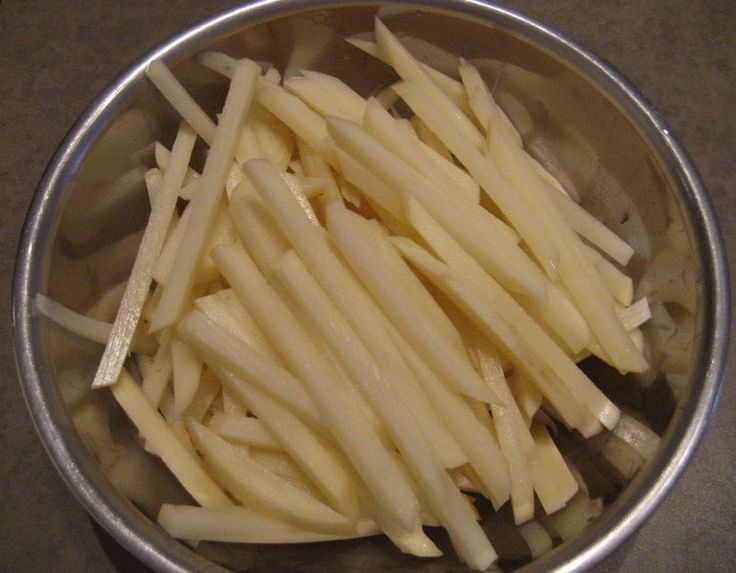 Healthy Homemade French Fries | Food | Pinterest