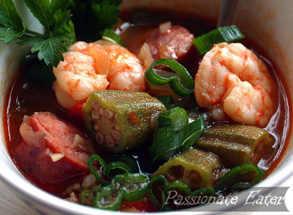 Sausage, shrimp and okra gumbo | Recipes That Make Your Belly Go Hmm ...