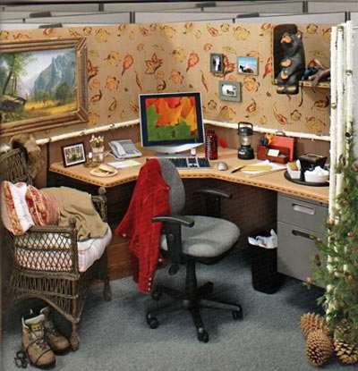 Office cubicle designs coolest office cubicle designs for Cool stuff for your cubicle